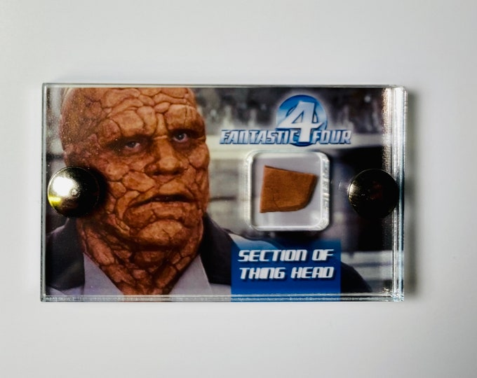 Fantastic Four 2005 - Section of Thing Head
