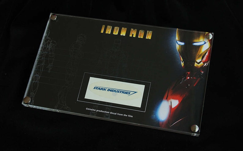 Iron Man  framed production decal image 0