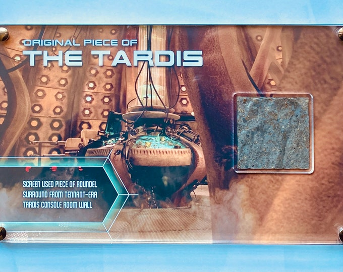 Large Display Doctor Who Tardis Roundel Surround from Tardis Console Room Wall