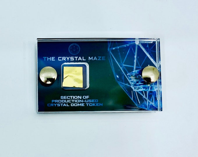 Mini Display - The Crystal Maze - Section of Production Used Token