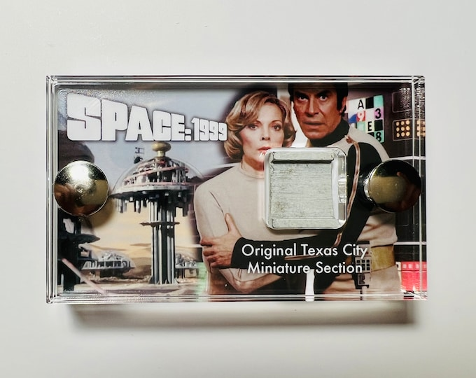 Space 1999 - Section of Texas City Miniature Model