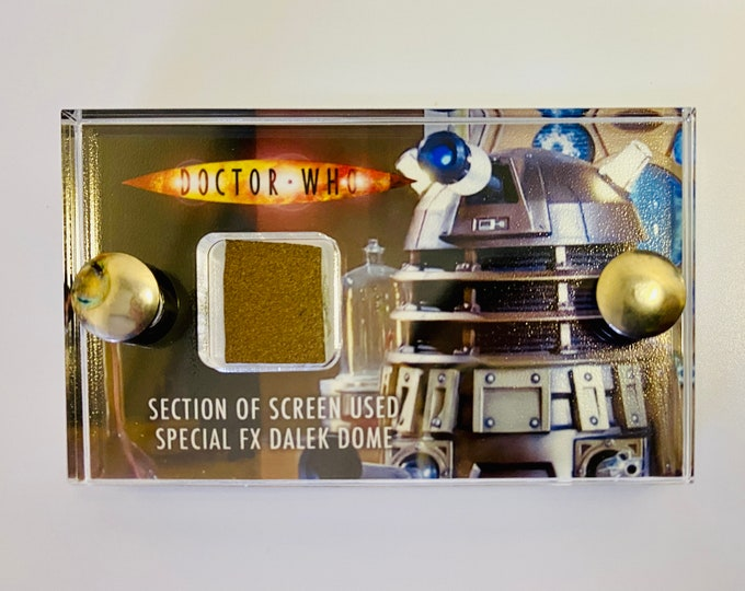 Mini Display - Doctor Who - Piece of New Series SFX Dalek Dome