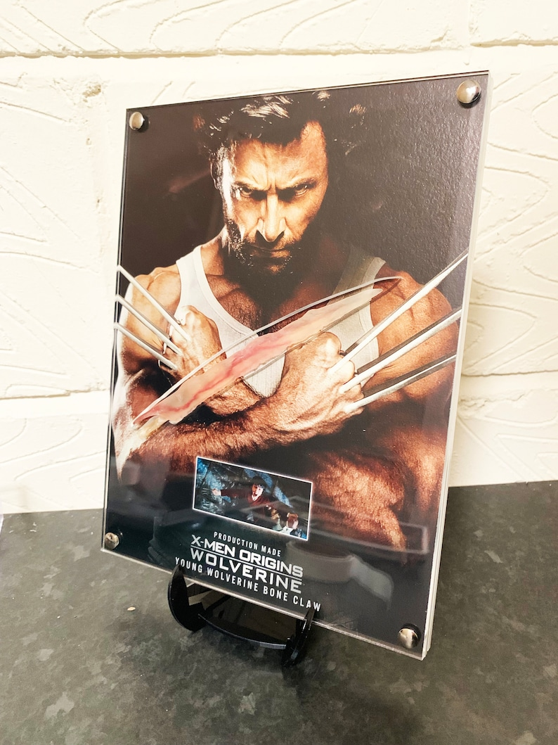 X-Men Origins Wolverine  Production Made Young Wolverine Bone image 0