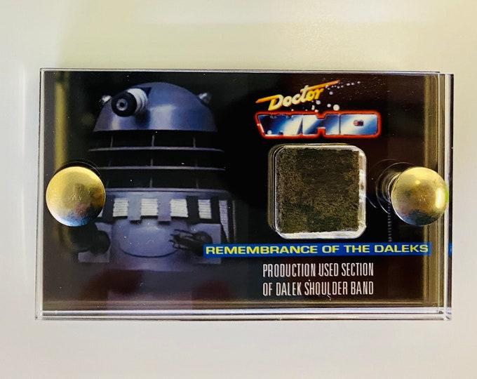 Mini Display - Doctor Who - Section of Renegade Dalek Shoulder Band