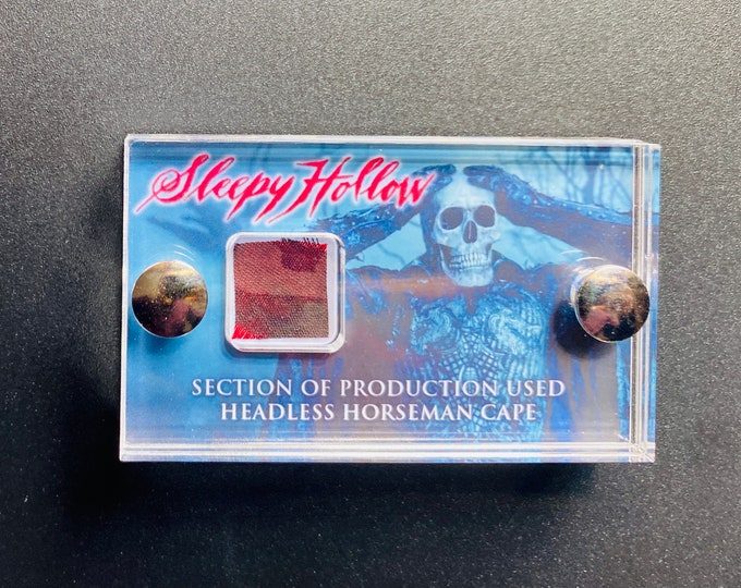 Sleepy Hollow - Section of Production Used Headless Horseman Cape