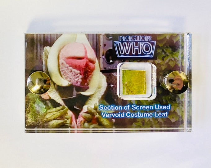 Mini Display - Doctor Who - Leaf Section of Screen Used Vervoid