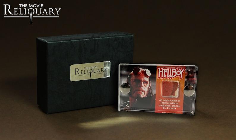 Mini Display  Hellboy  Ron Perlman Facial Prosthetic Piece image 0