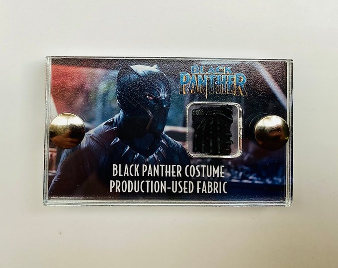 Mini Display Black Panther - Production Used Fabric
