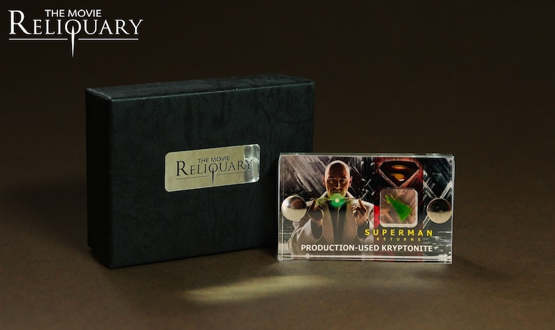 Mini Display  Superman Returns Production-Used Kryptonite image 0