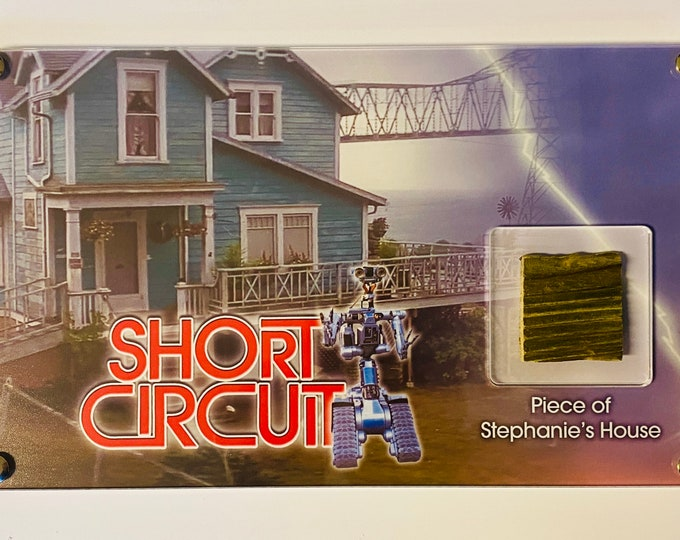 Large Display - Short Circuit - Piece of Stephanie's House / Johnny 5