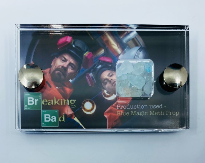 Mini Display - Breaking Bad Production Used Blue Magic