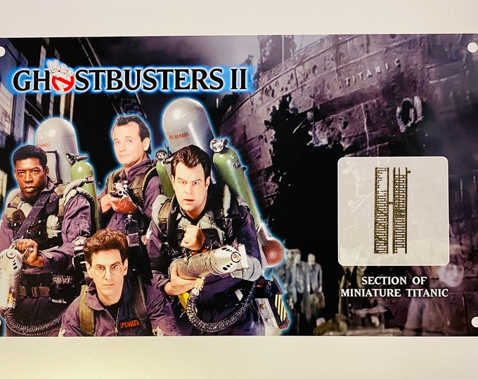 Large Display - Ghostbusters 2 - Titanic Miniature Section
