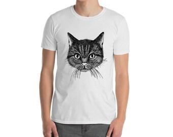 d2b7eff62043af Cat designed shirt