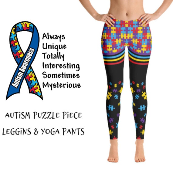 Autism Mom Leggings Autism Mom Yoga Pants Autism Acceptance Autism Awareness Leggings Autism Clothing Gift For Mom Special Needs Mom