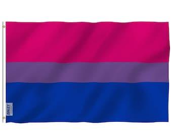 Bisexual Pride Flag 3x5 feet