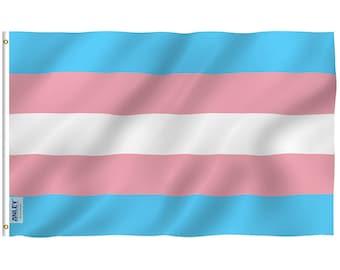 Transgender Pride Flag 3x5 feet