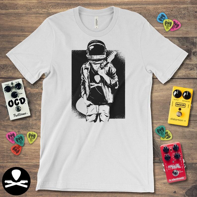 Astronaut Rocks  Telecaster Edition T-Shirt image 0