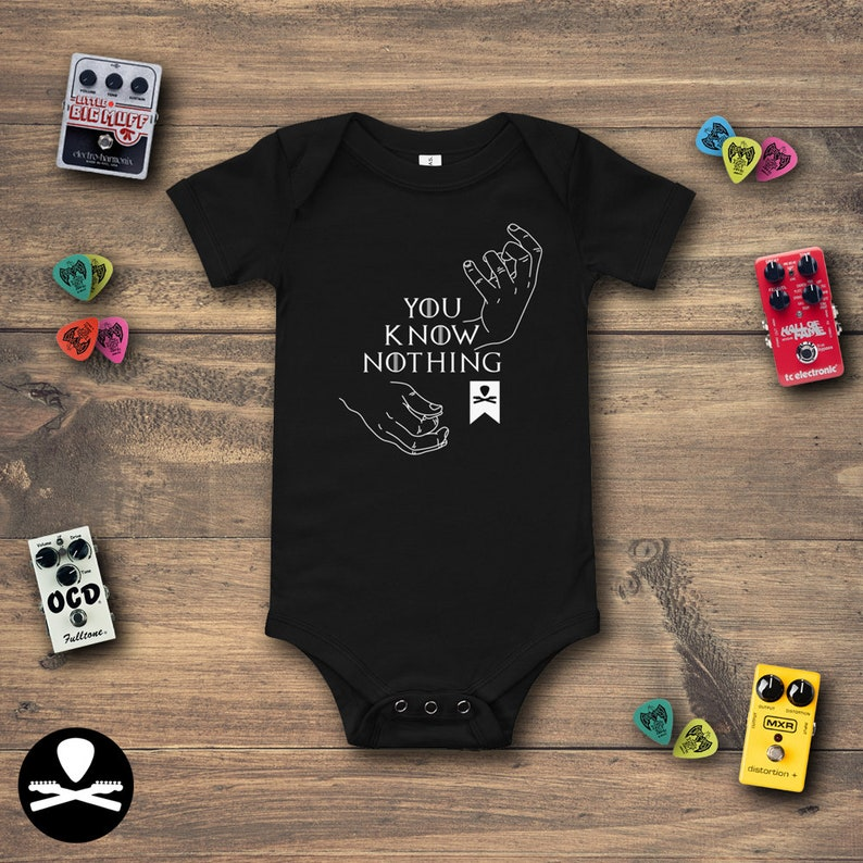 You Know Nothing Baby Bodysuit image 0