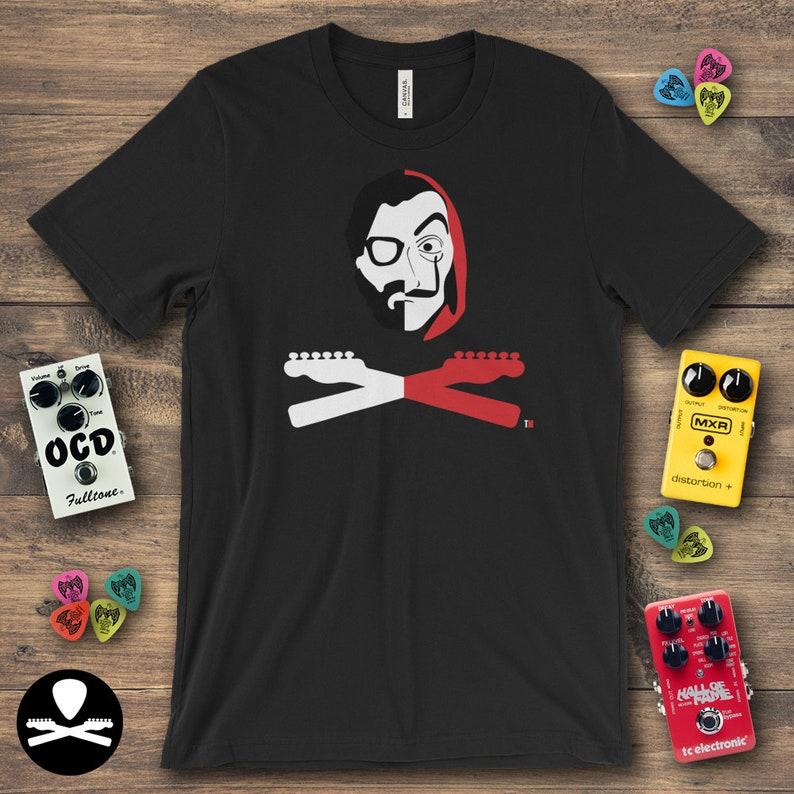 La Casa de Papel  El Profesor Crossbones Edition T-Shirt image 0