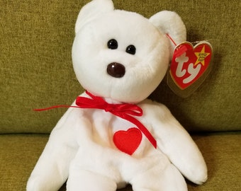 5f2aea7854f EXTREMELY RARE 1993 Valentino Original Ty Beanie Baby Retired- MINT  Condition!!! Tag Errors! Great Valentine s Gift