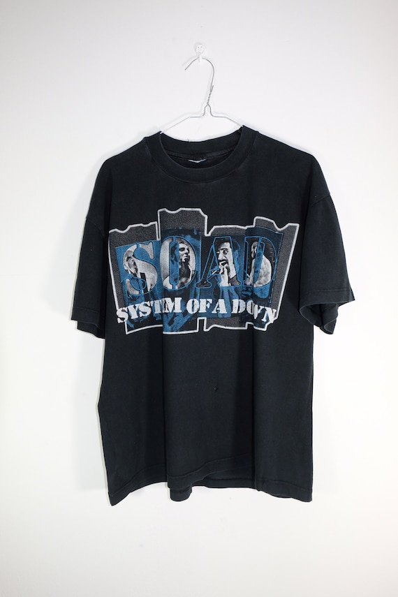 Vintage System of a Down SOAD faded Rock tee