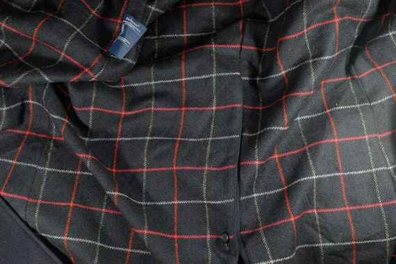 Burberry Wool Heavy Coat Belted Navy - image 6