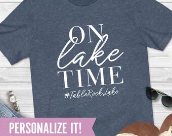 Relax Youre On Lake Time Funny Shirt Fishing Saiing Cool Gift T Shirt