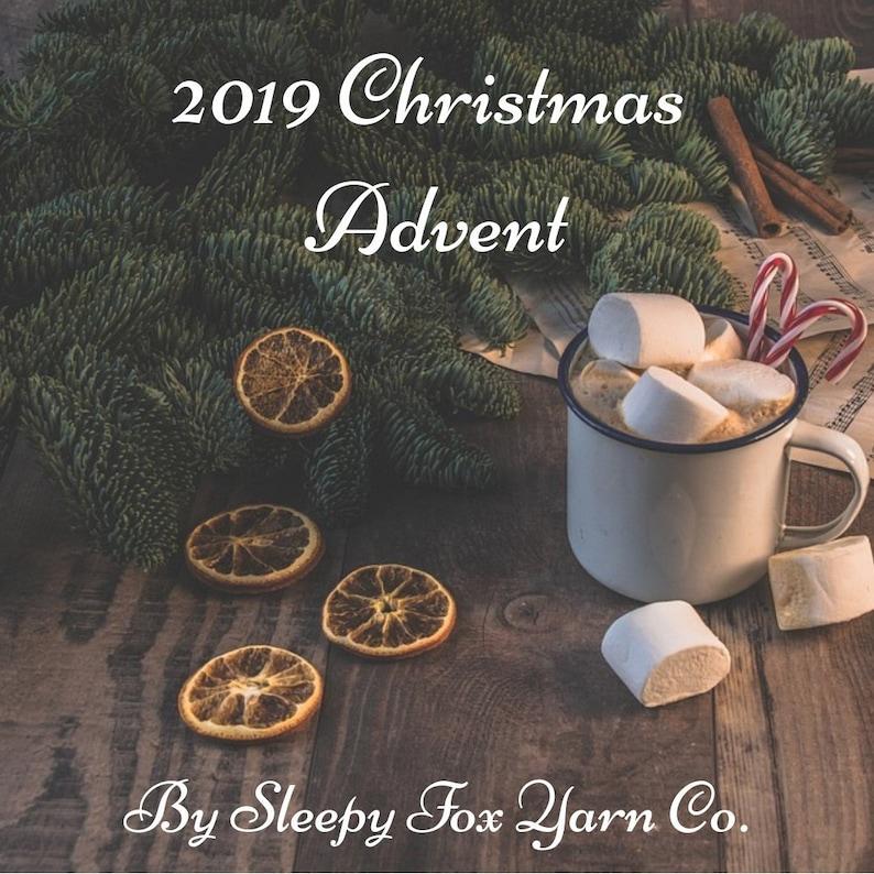 Yule Yarn Advent Calendar 2019 Christmas Advent Calendar Pre-Order