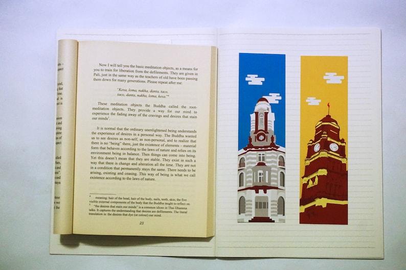 Yangon Bookmarks  2 pcs  image 0