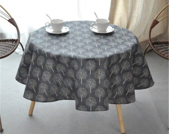 Round Table Cover   Etsy