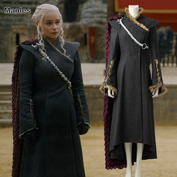 Halloween Game of Thrones 7 Daenerys Cosplay Costume Women/'s Dress Only All Size