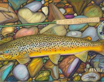 River Gem 24 x 14 Limited Fine Art Print