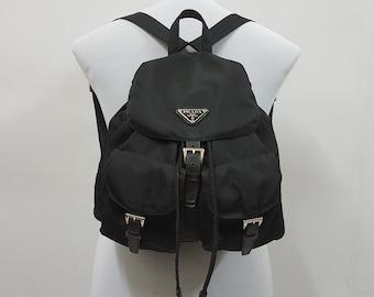 35fbd16d44d8 Vintage PRADA bagpack nice design made in italy