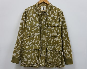 58de4913b66 Vintage BAPE military digital camo design jacket made in japan