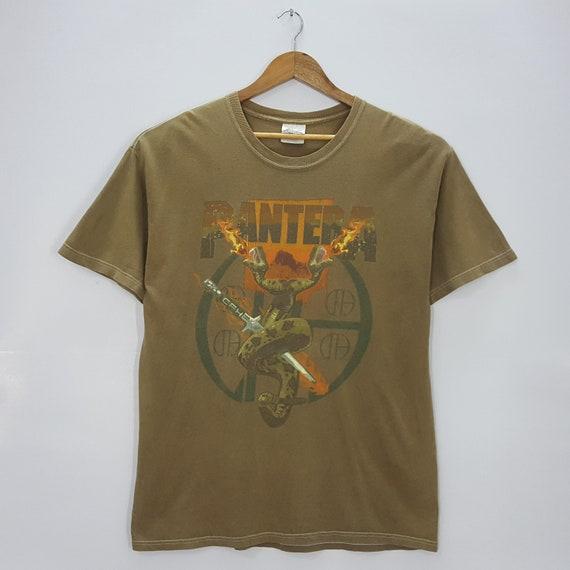 Vintage PANTERA American rock band nice design t-s