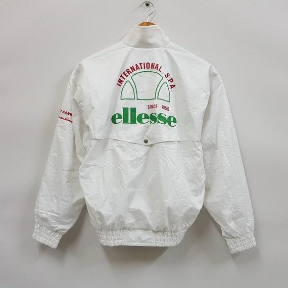 Vintage ellesse nice design bombers jacket