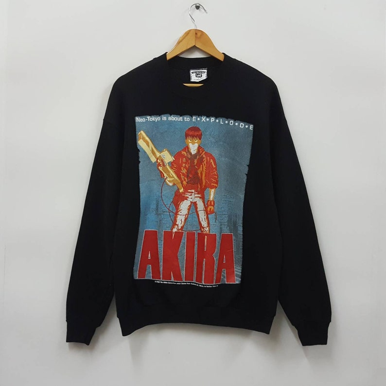 2fd2987a5c0 Vintage AKIRA sweatshirt made in usa