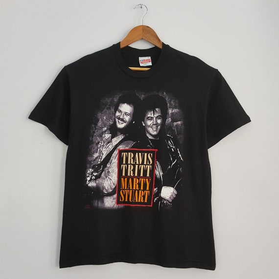 Vintage 90's TRAVIS Tritt MARTY STUART Country Sin