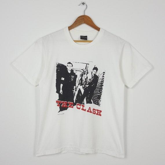 Vintage The Clash British Punk Rock Band Tour T-Sh