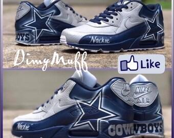 6d8e881810 Custom Dallas Cowboys AirMax 90s - Men's