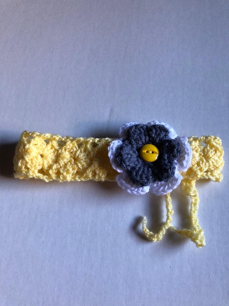 Crocheted Infant Headband