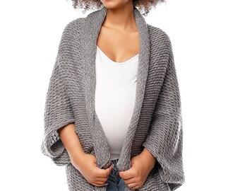 733475772e901 Maternity cardigan Pregnancy Sweater Oversized Maternity wear