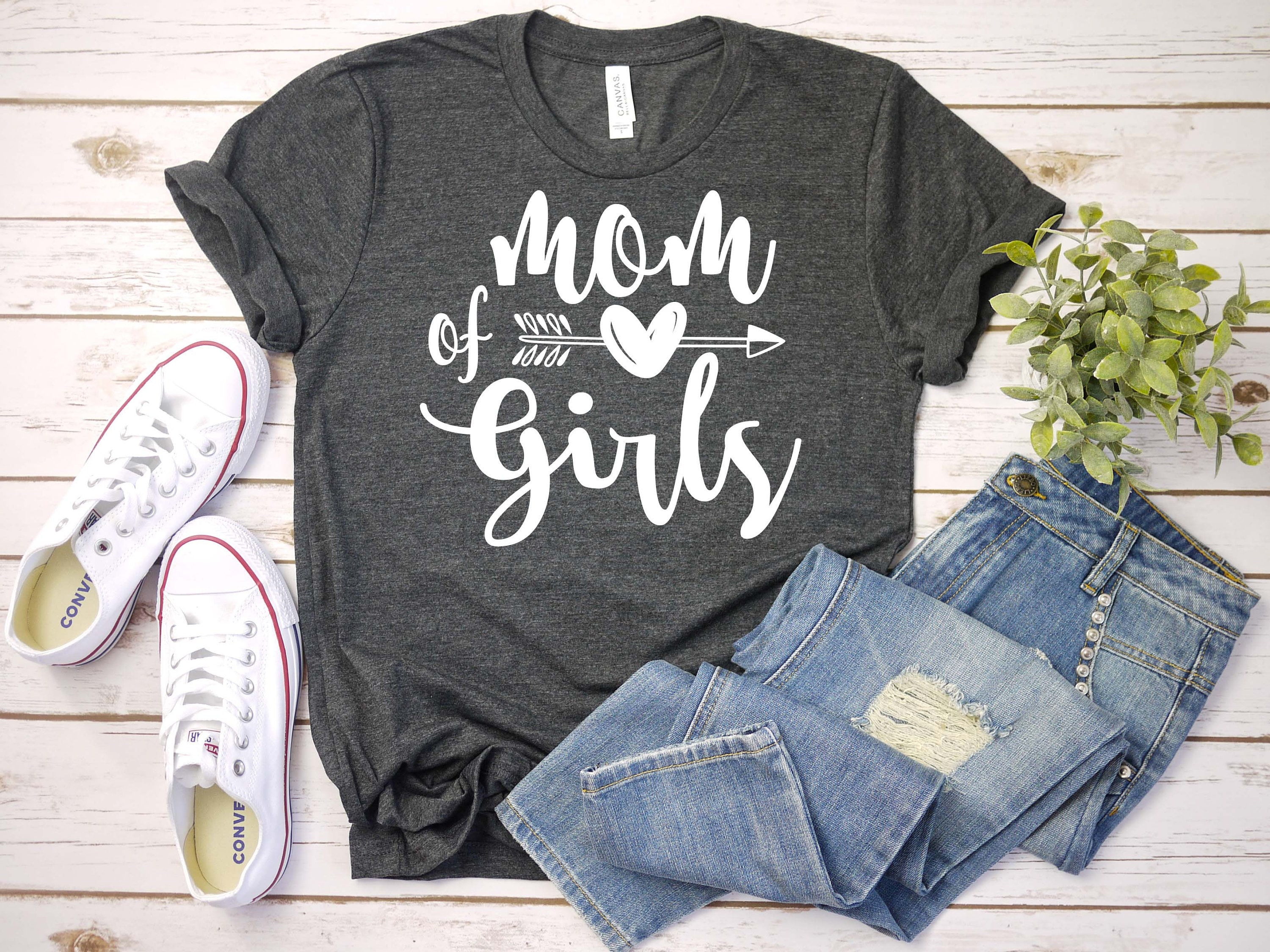 Mom of girls, mom svg, eps, png, pdf Cut File, svg file, dxf Silhouette,  digital download svg, Cutting svg, mom gift, mother day gift