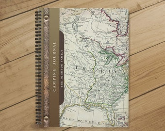 efc957e82 RV Log & Camping Journal (America) - Travel Planner - Personalize Camp  Journal