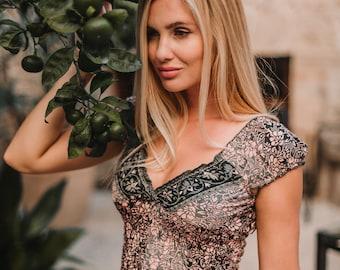 Thailand Silk Maxi Summer Dress, Romantic Long Dress for Women, Bohemian Dress, Off the Shoulder, Fit Empire Waist Dress, Bridesmaids