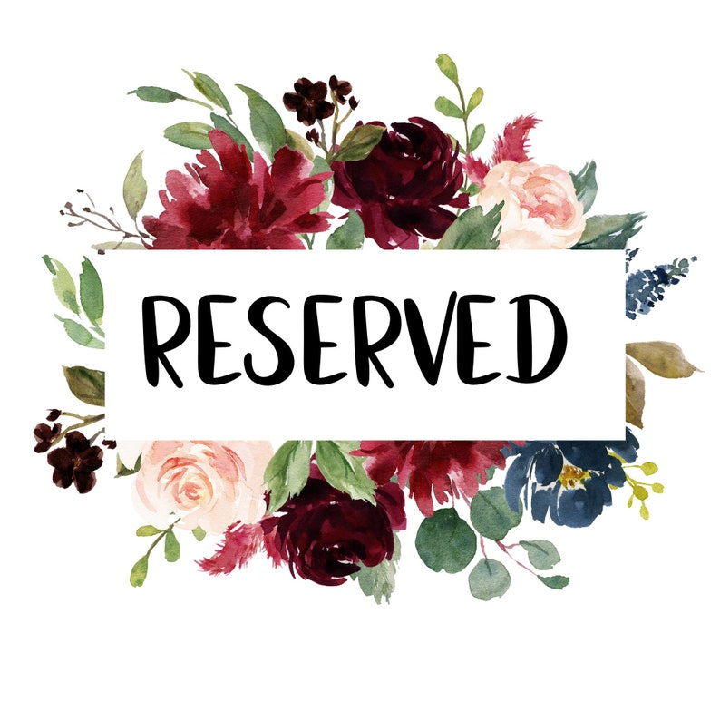 Reserved  extra embroidery fee image 0