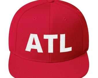 7a45913a2af ATL Hat - Red Atlanta Hat