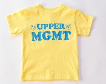 Retro Baby T-shirt Babies Slogan Tee. Organic Cotton