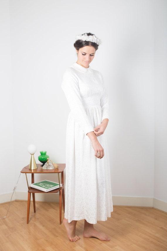50's romantic wedding dress