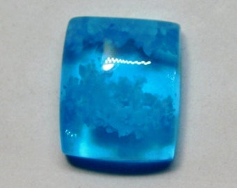 Loose Gemstone  J-172 Dumortierite Cabochon  Top Grade Dumortierite Gemstone  Oval Shape  37.50 Ct 36x21x5 mm